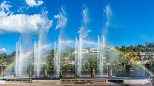 The Branson Landing Fountains